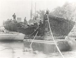 abandonedHMS Nelson Shag Bay