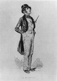 Paul Gavarni Le Flaneur 1842