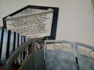 William Gellibrand burial plaque2