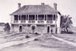 Add Lodge drawing -UTAS library