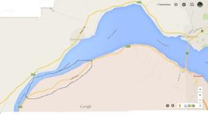 Map of Murphys Flat