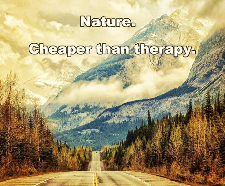 nature as therapy The nature cure why some doctors are writing prescriptions for time outdoors and when nature therapy is recommended by a doctor, it tends to carry more weight.