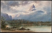 AGNSW Mount Ida Lake St Clair Tasmaniac1881