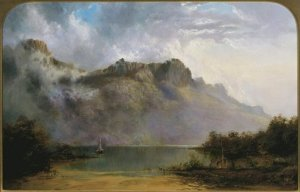 AGNSW Mount Olympus Lake St Clair Tasmania the source of the Derwent 1875