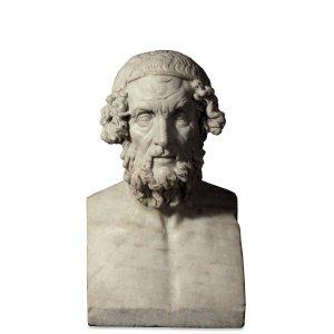 Sculpture of Homer