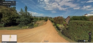 Bushy Park lane to oast houses