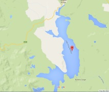 Lake King William map