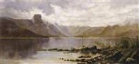 william-charles-piguenit-lake-st-clair-the-source-of-the-river-derwent-tasmania